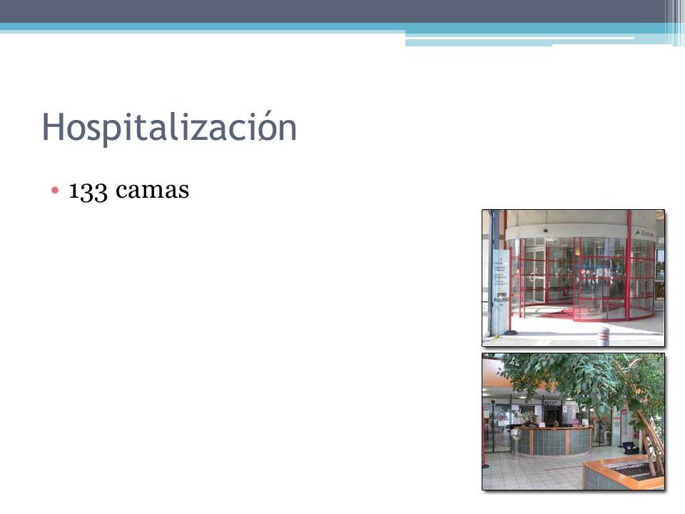 Hospitalizaciِón 133 camas