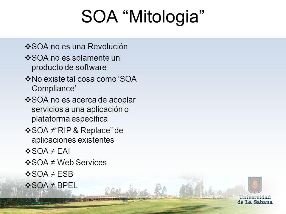 SOA Mitologia SOA no es una Revolución