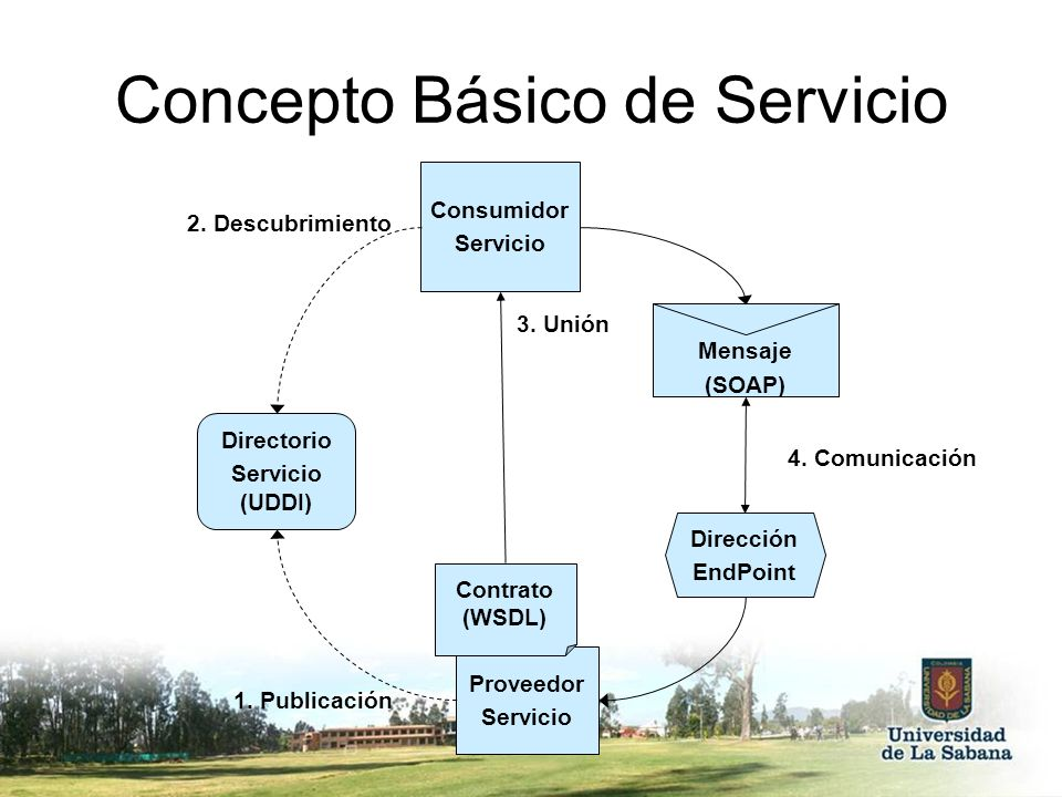 Concepto Básico de Servicio