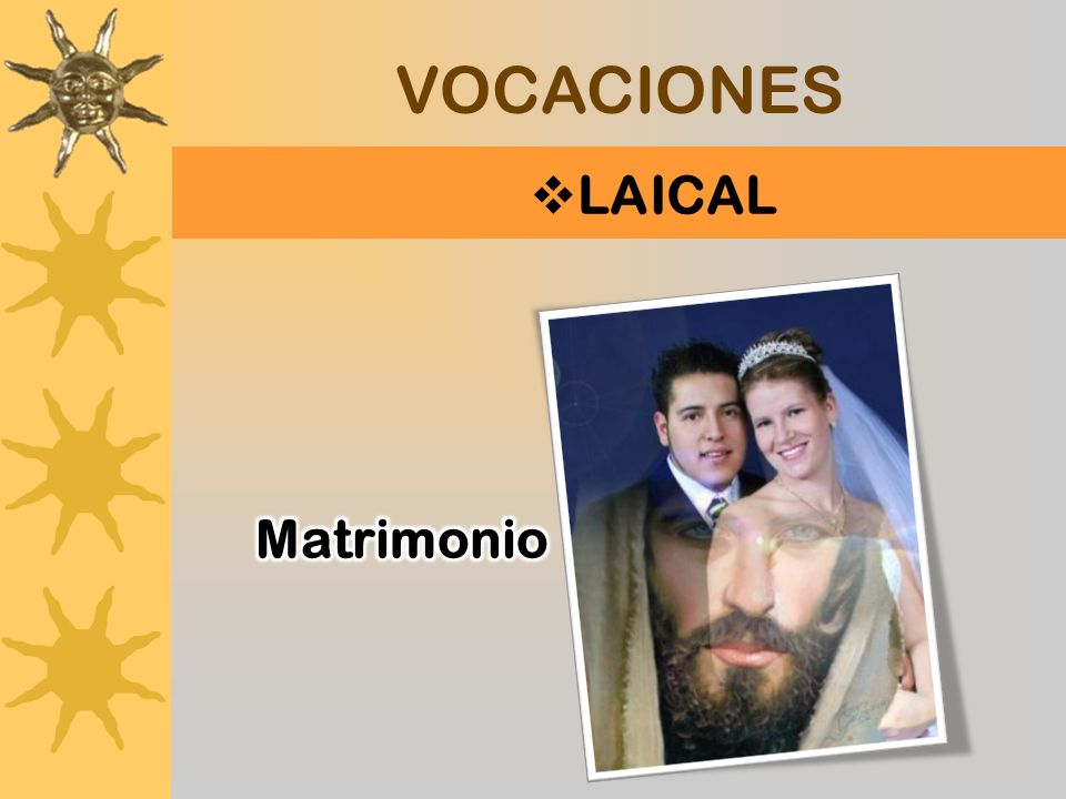 VOCACIONES LAICAL Matrimonio