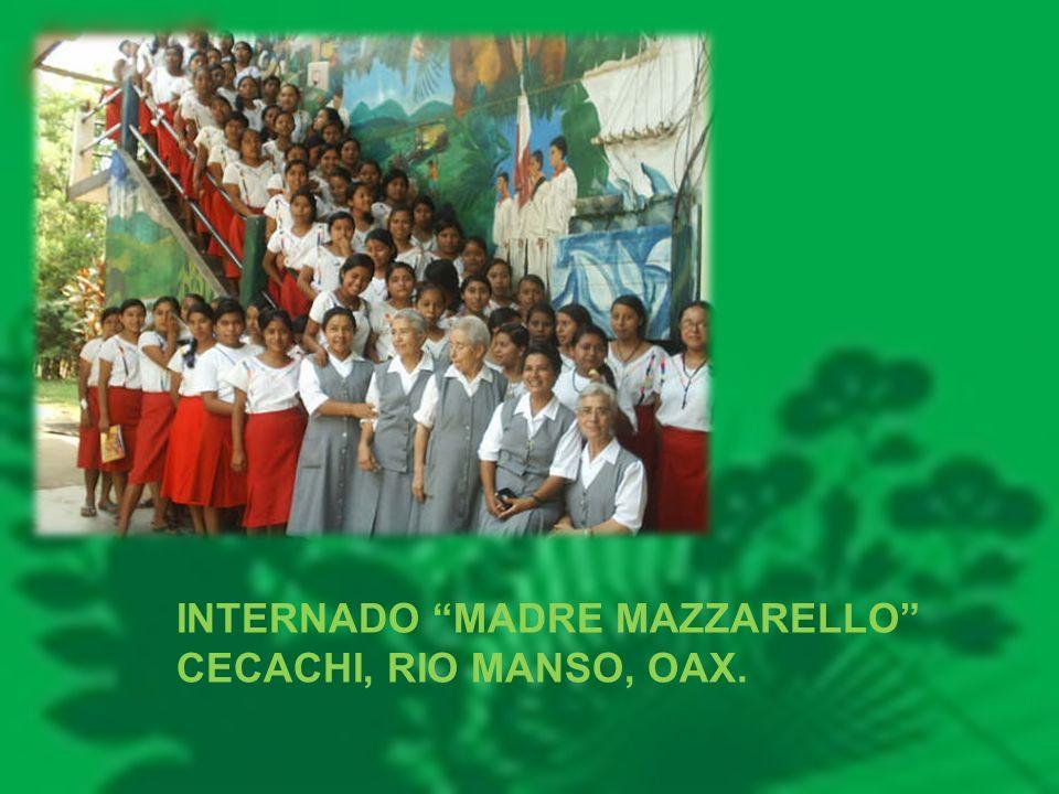 INTERNADO MADRE MAZZARELLO CECACHI, RIO MANSO, OAX.
