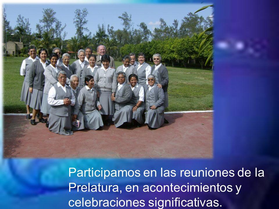 Promover la formación y actualización de las misioneras.