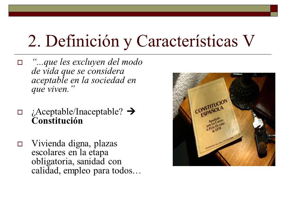 2. Definición y Características V