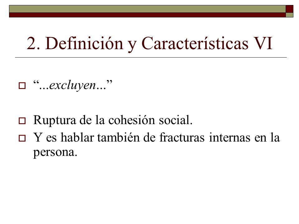 2. Definición y Características VI