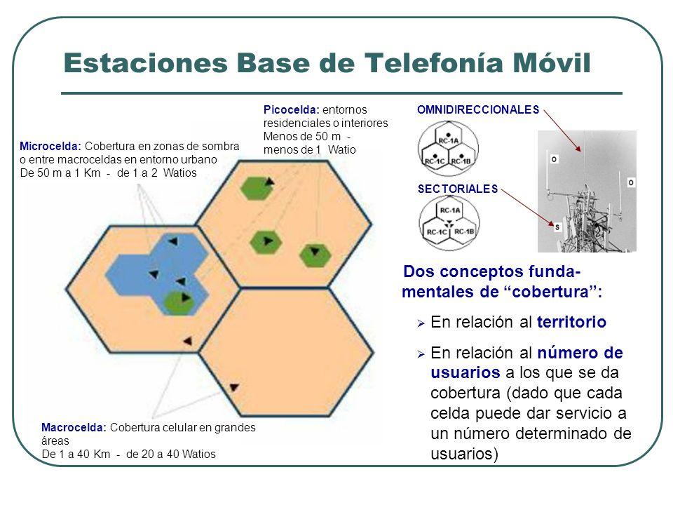 Estaciones Base de Telefonía Móvil