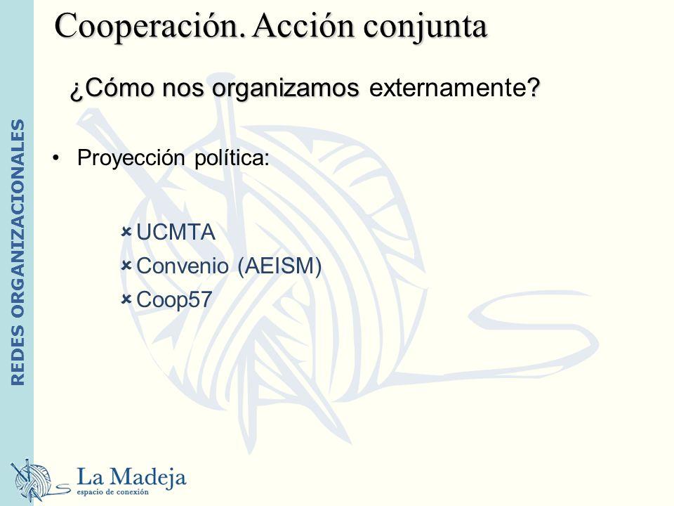 Cooperación. Acción conjunta