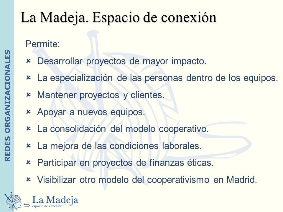La Madeja. Espacio de conexión
