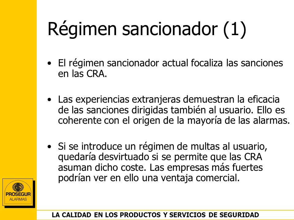Régimen sancionador (1)