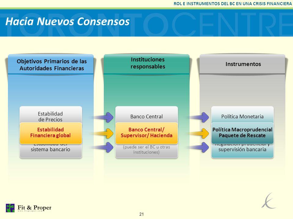 Hacia Nuevos Consensos
