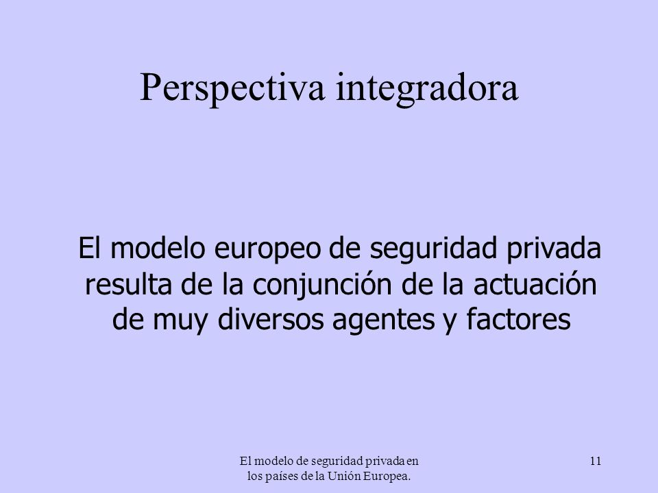Perspectiva integradora