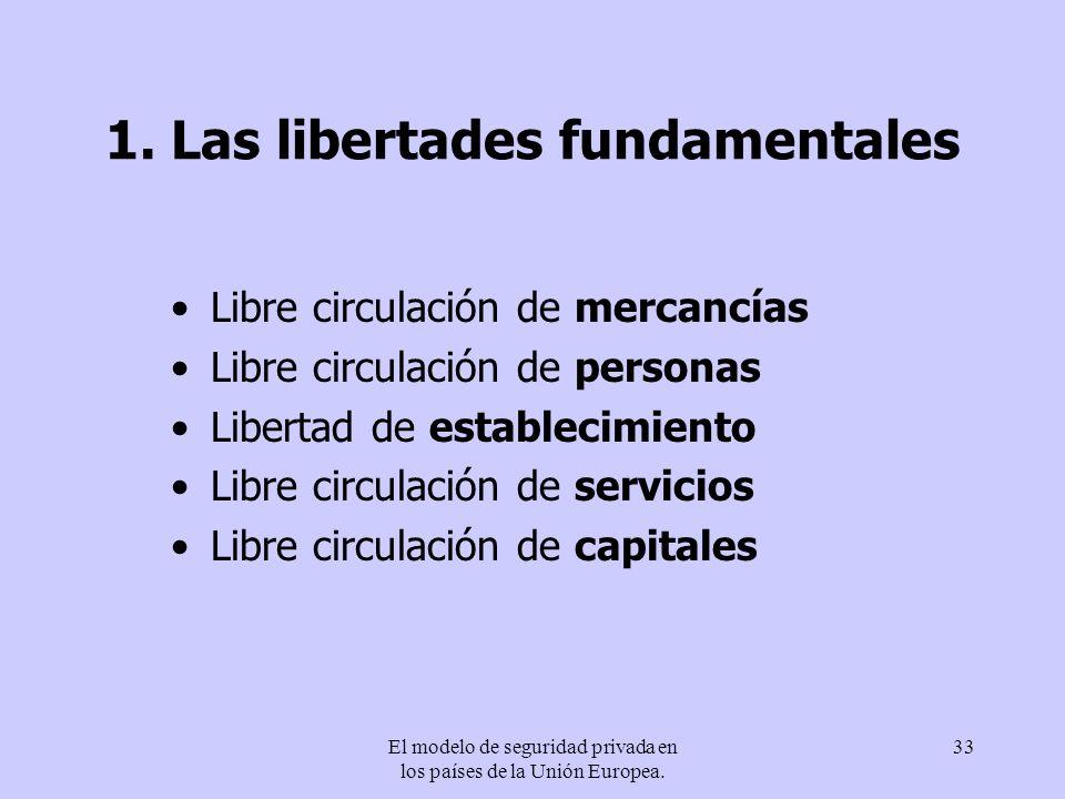 1. Las libertades fundamentales