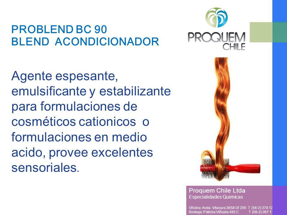 PROBLEND BC 90 BLEND ACONDICIONADOR