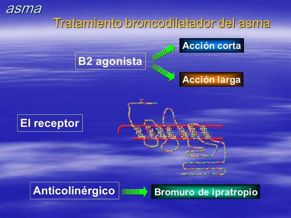 Tratamiento broncodilatador del asma