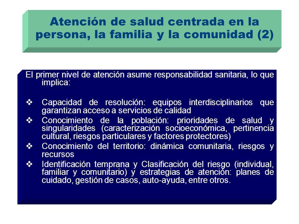 Atención de salud centrada en la persona, la familia y la comunidad (2)