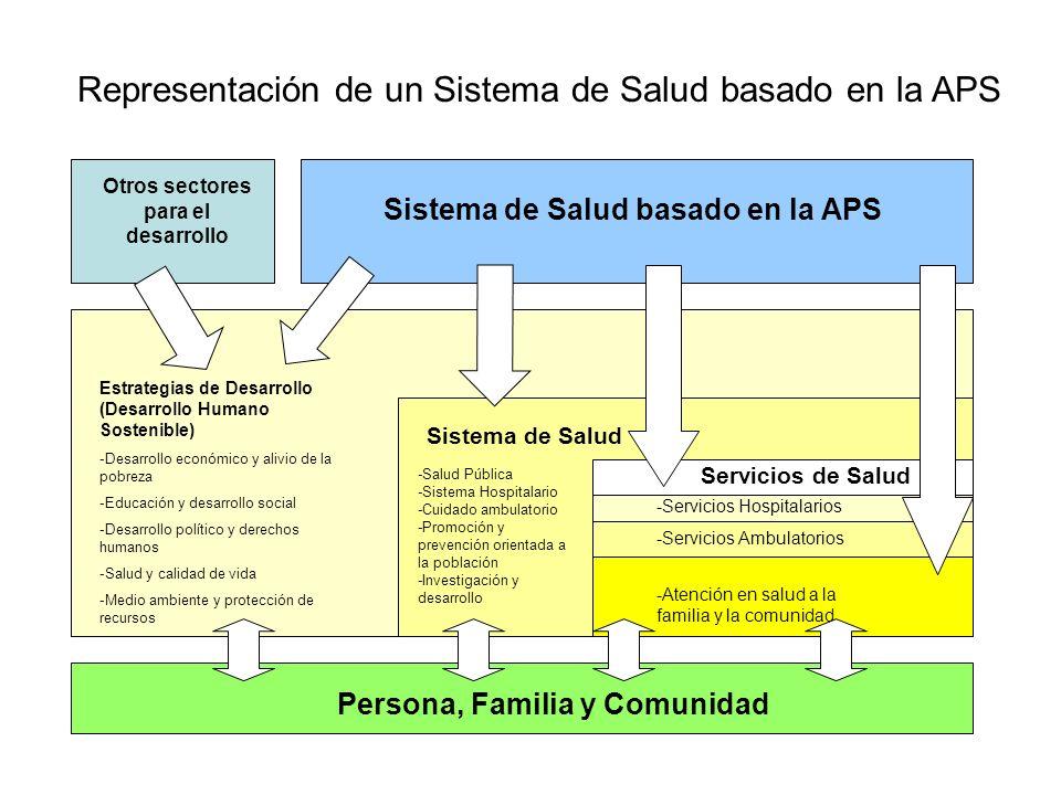 Representación de un Sistema de Salud basado en la APS