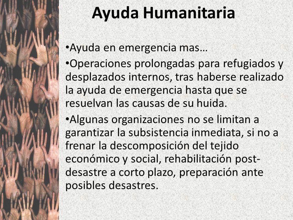 Ayuda Humanitaria Ayuda en emergencia mas…