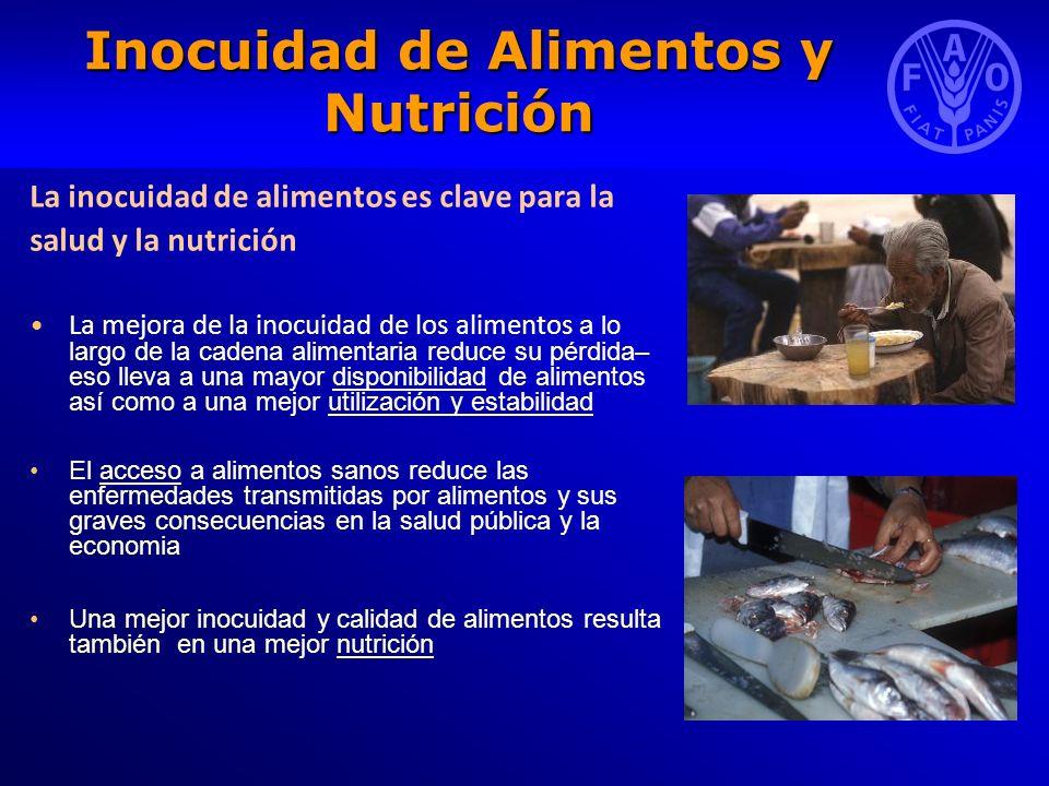 Inocuidad de Alimentos y Nutrición