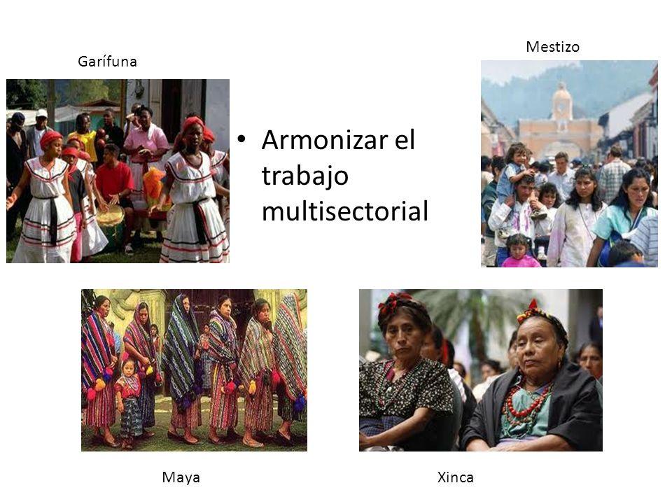 Armonizar el trabajo multisectorial