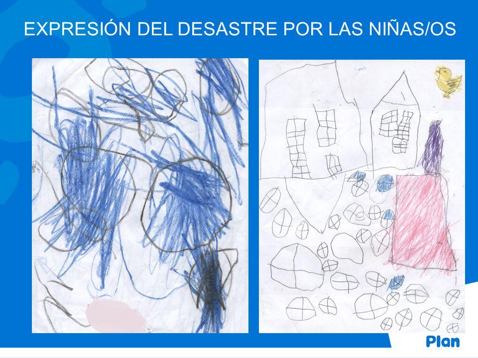 EXPRESIÓN DEL DESASTRE POR LAS NIÑAS/OS