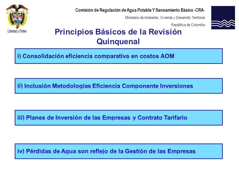 Principios Básicos de la Revisión Quinquenal