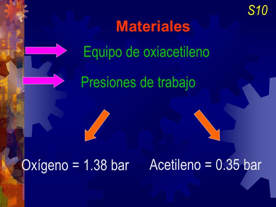 Equipo de oxiacetileno