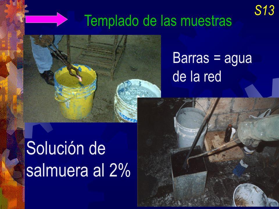 Solución de salmuera al 2%