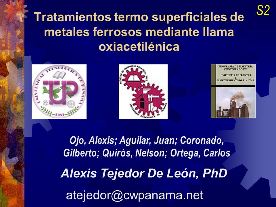 Tratamientos termo superficiales de metales ferrosos mediante llama oxiacetilénica