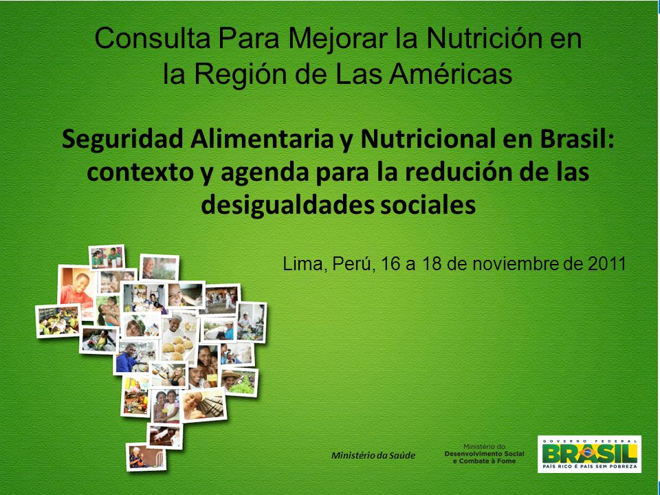 Seguridad Alimentaria y Nutricional en Brasil: