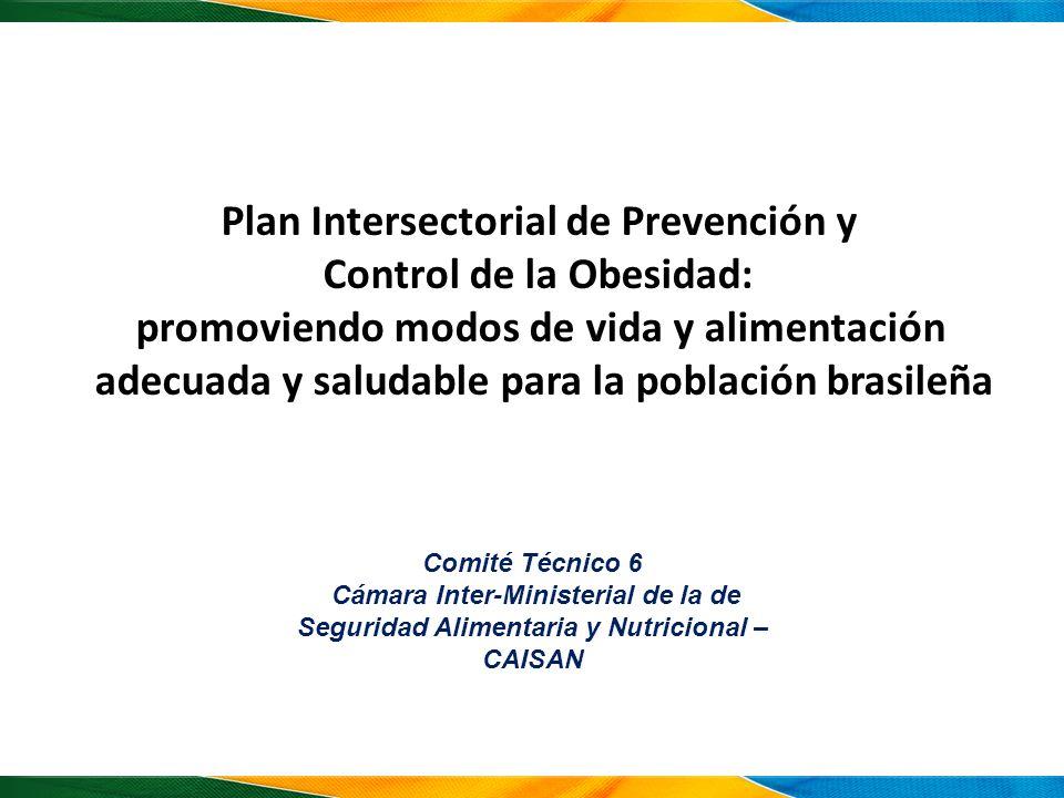 Plan Intersectorial de Prevención y Control de la Obesidad: