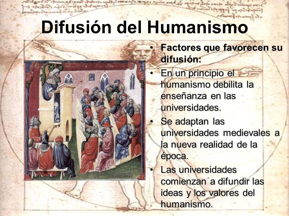 Difusión del Humanismo
