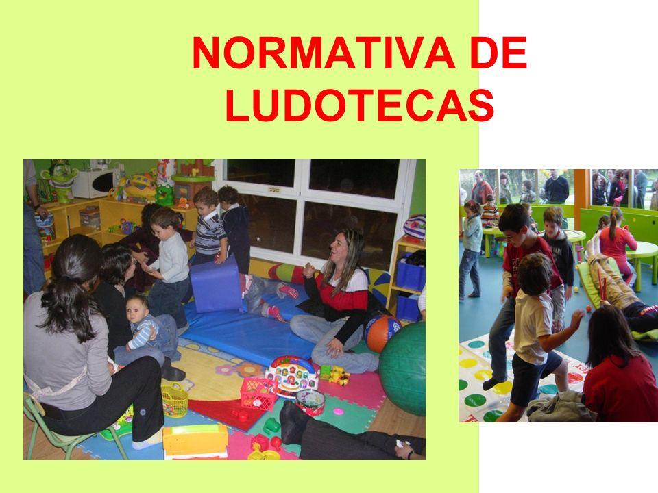 NORMATIVA DE LUDOTECAS