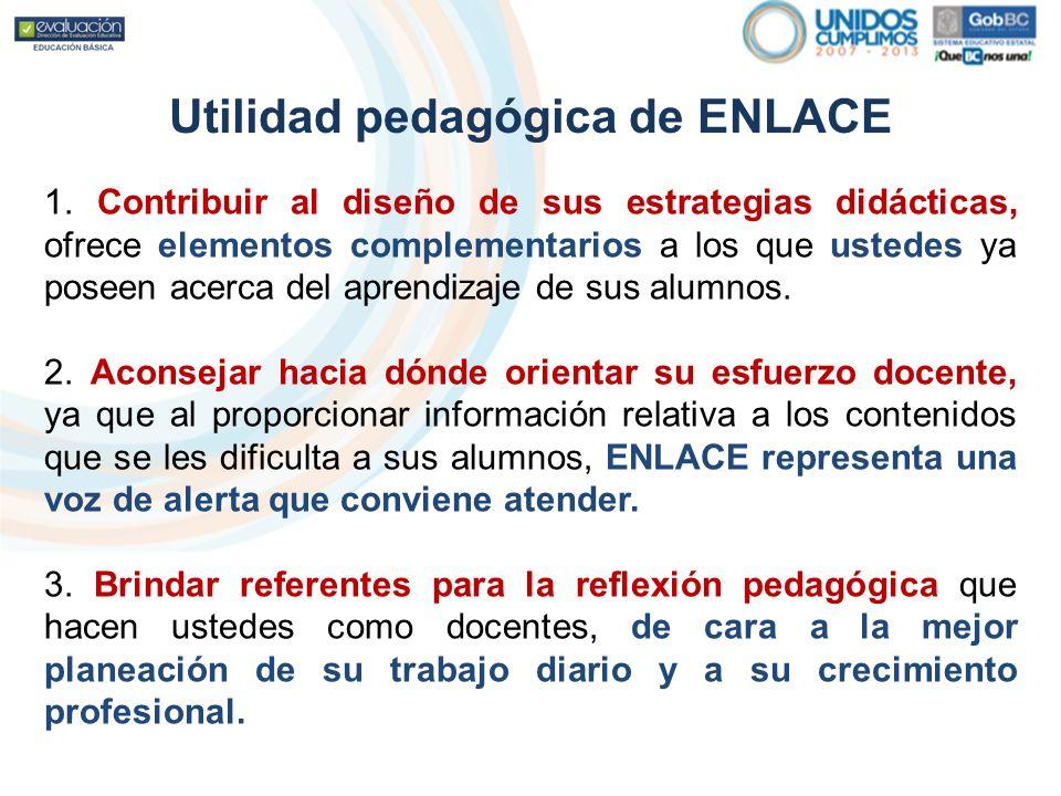 Utilidad pedagógica de ENLACE