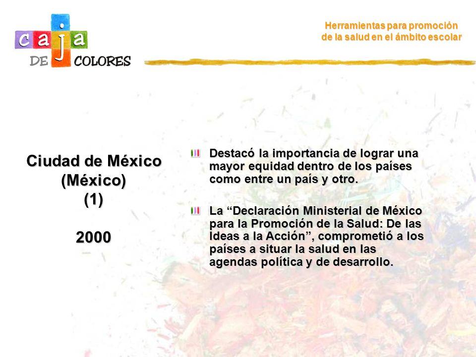 Ciudad de México (México) (1) 2000