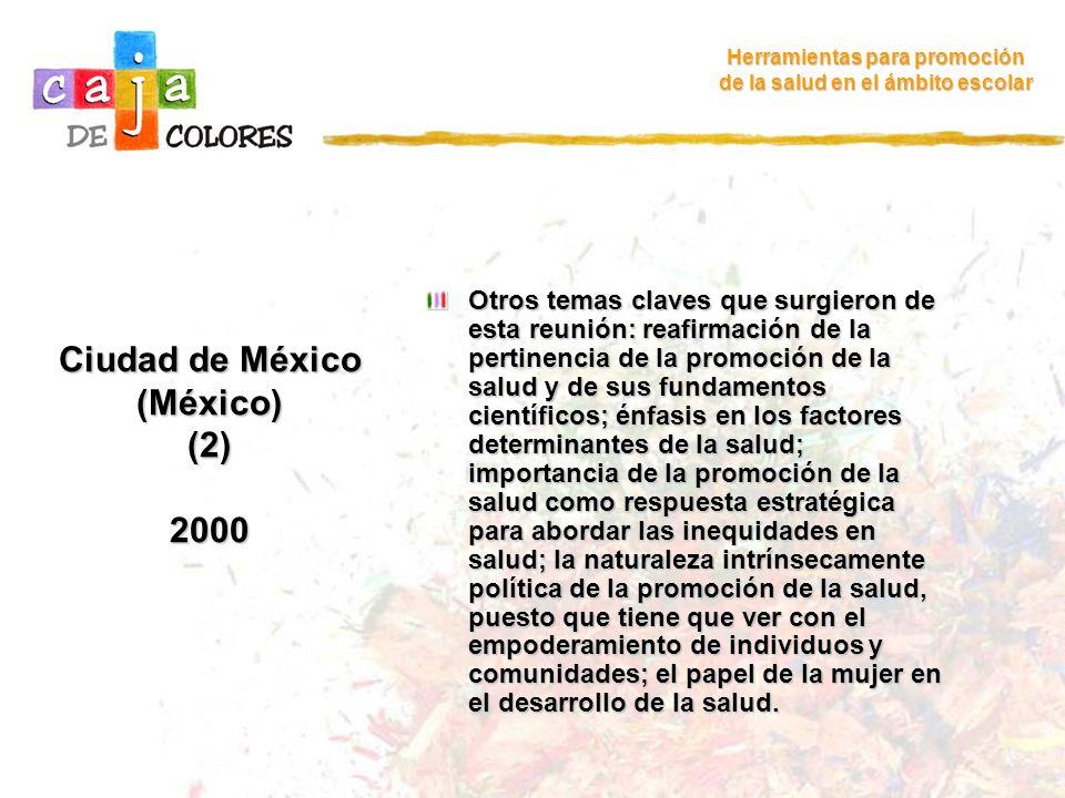 Ciudad de México (México) (2) 2000