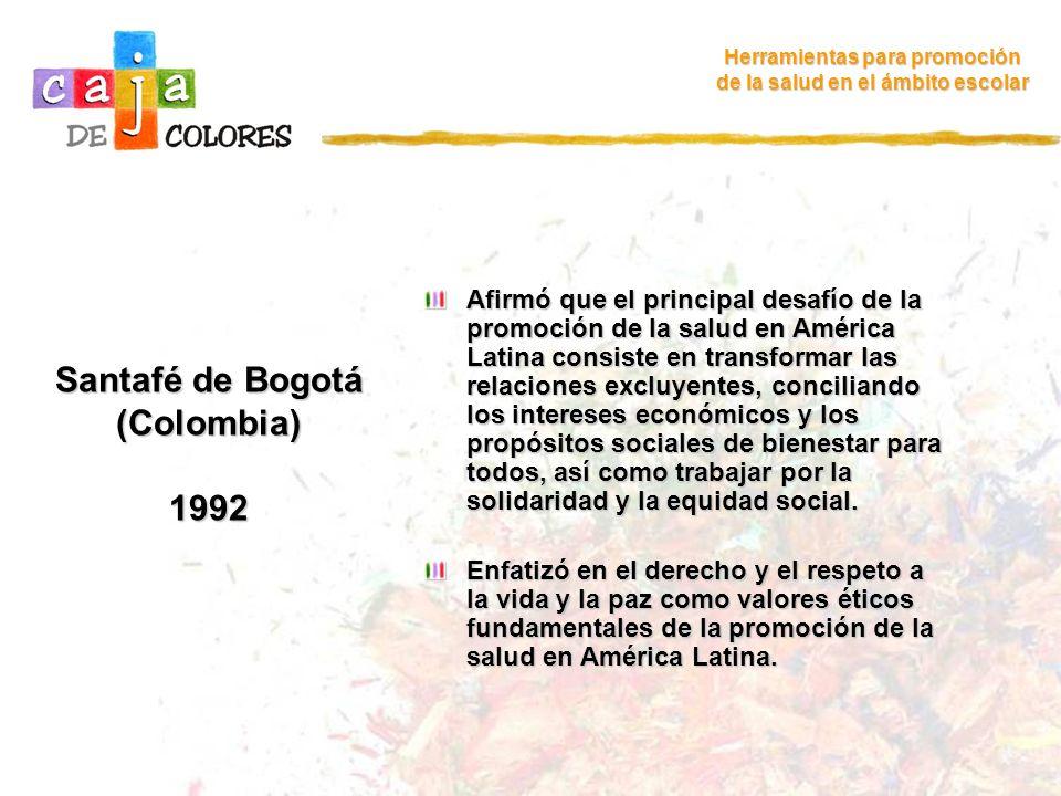 Santafé de Bogotá (Colombia) 1992