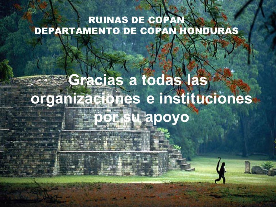 RUINAS DE COPAN DEPARTAMENTO DE COPAN HONDURAS