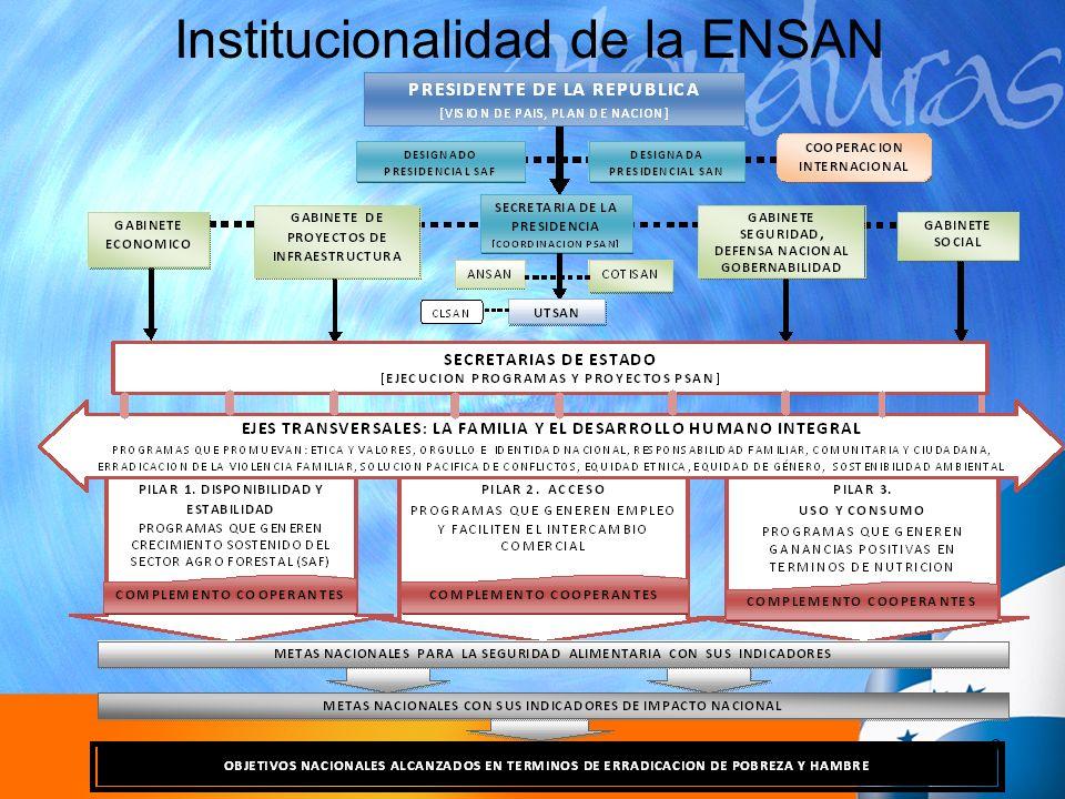 Institucionalidad de la ENSAN