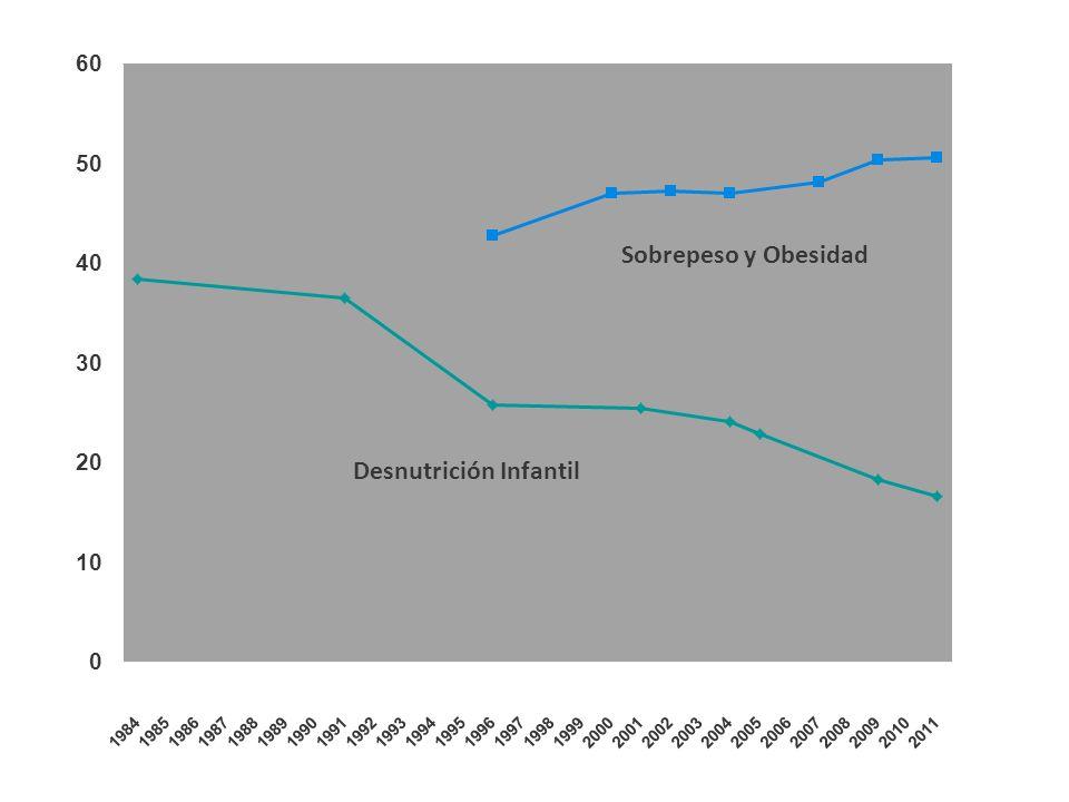 Sobrepeso y Obesidad Desnutrición Infantil