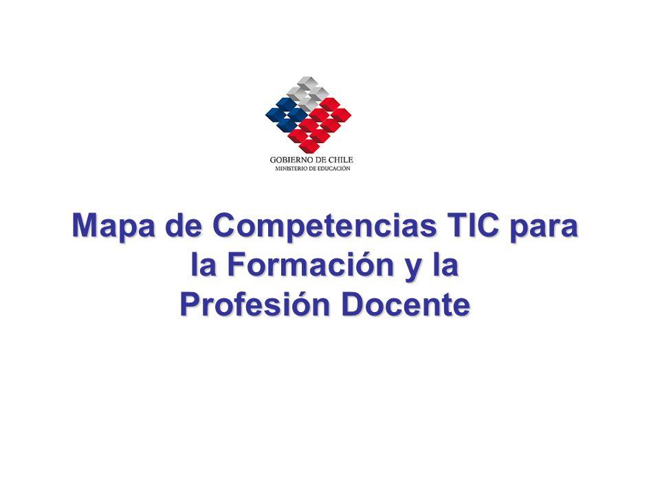 Mapa de Competencias TIC para la Formación y la