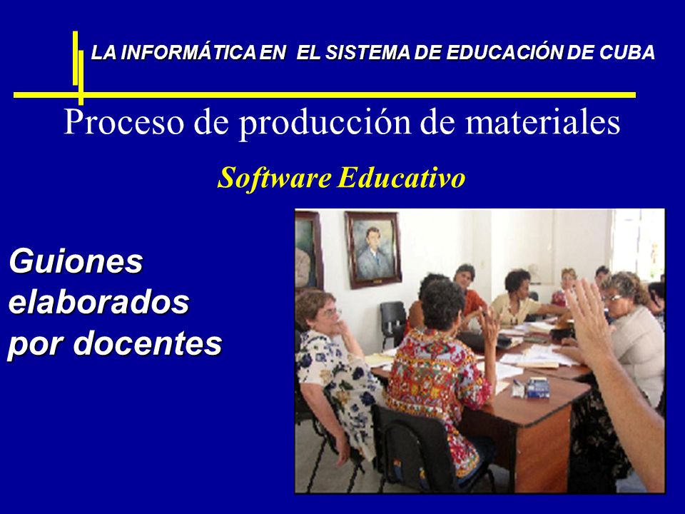 Proceso de producción de materiales