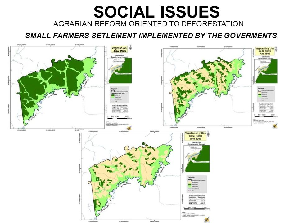 SOCIAL ISSUES AGRARIAN REFORM ORIENTED TO DEFORESTATION