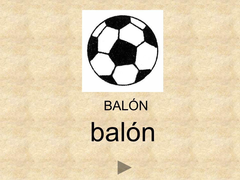 BALÓN balón