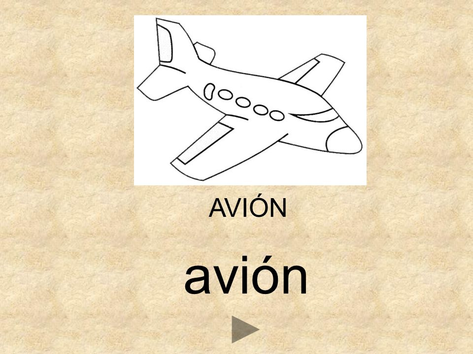 AVIÓN avión
