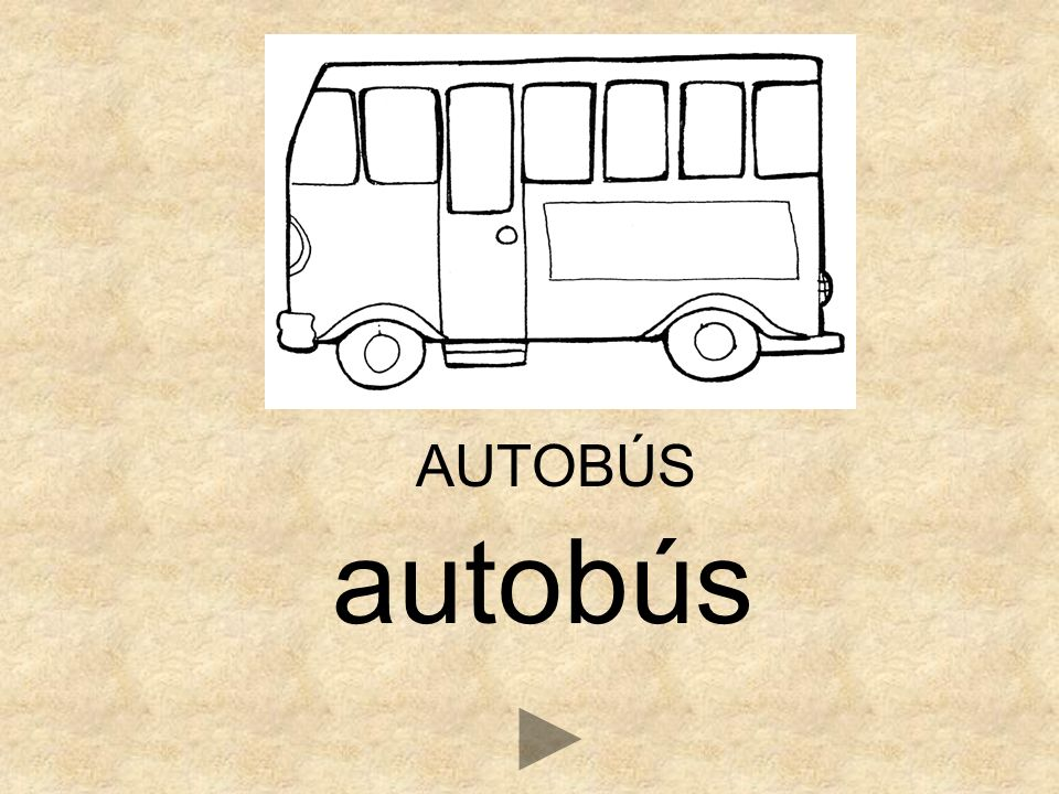 AUTOBÚS autobús