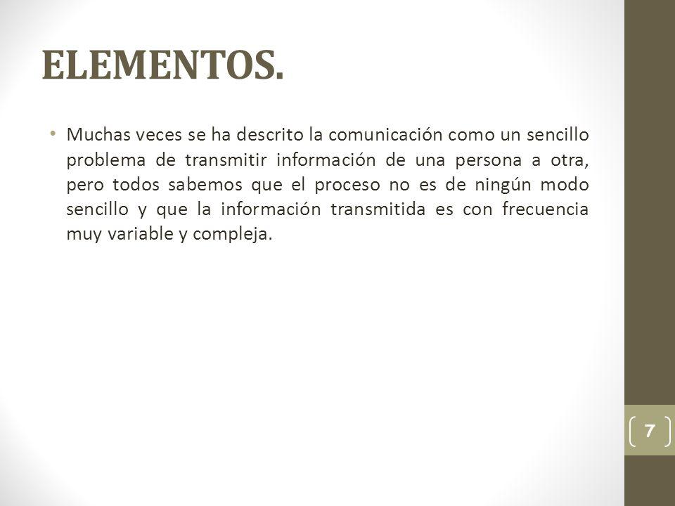 ELEMENTOS.