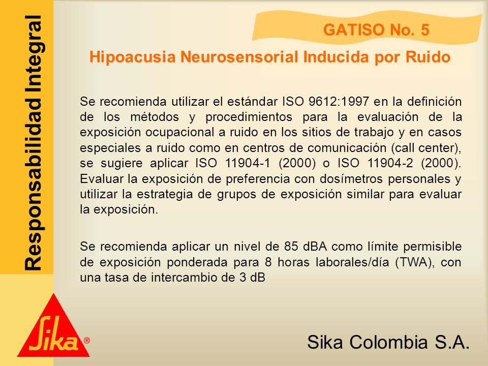 Hipoacusia Neurosensorial Inducida por Ruido