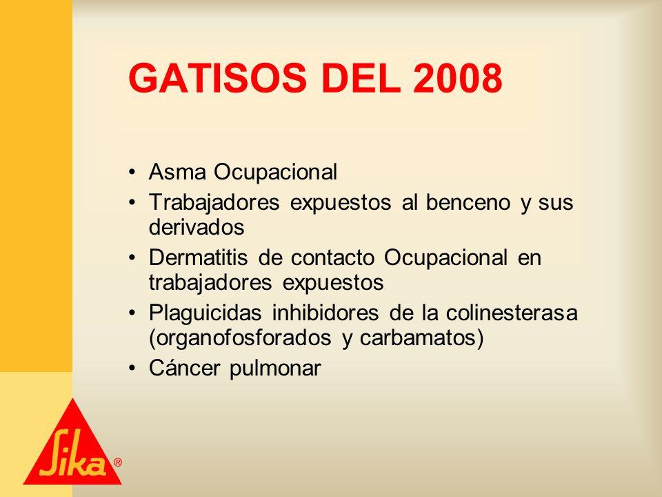 GATISOS DEL 2008 Asma Ocupacional