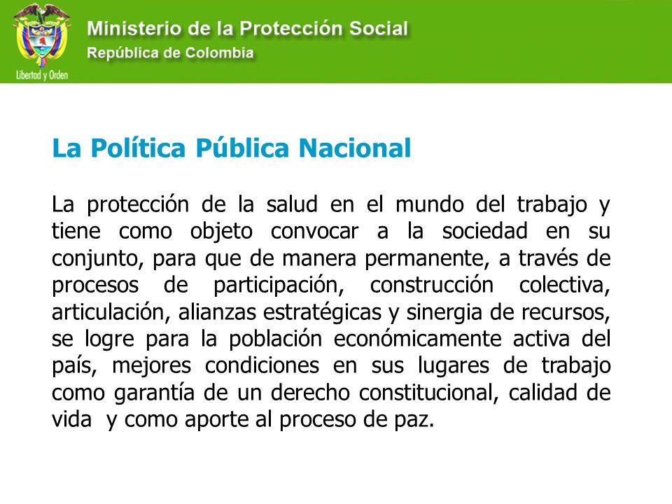 La Política Pública Nacional