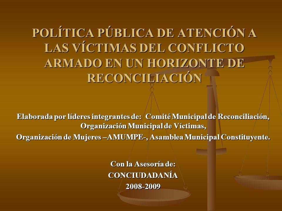 Organización de Mujeres –AMUMPE-, Asamblea Municipal Constituyente.