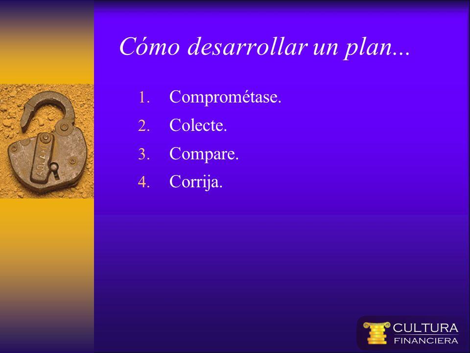 Cómo desarrollar un plan...